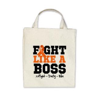 Leukemia Fight Like a Boss Tote Bag