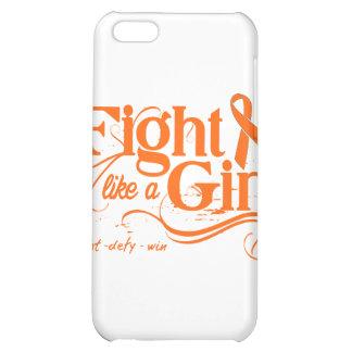 Leukemia Fight Like A Girl Elegant Cover For iPhone 5C