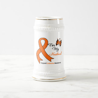 Leukemia - For My Husband Coffee Mugs