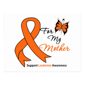 Leukemia - For My Mother Post Card