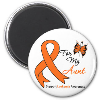 Leukemia - For My Sister-in-Law 6 Cm Round Magnet