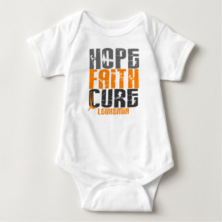 Leukemia HOPE FAITH CURE Baby Bodysuit