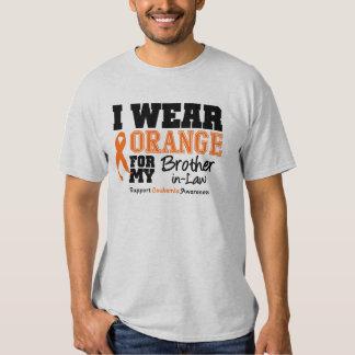 Leukemia I Wear Orange Brother-in-Law Shirt