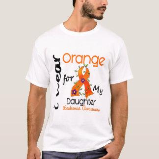 Leukemia I Wear Orange For My Daughter 43 T-Shirt