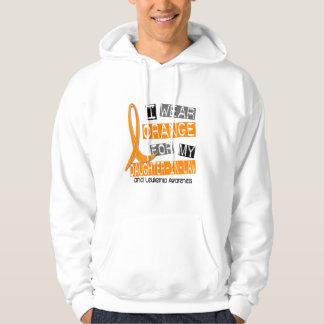 Leukemia I Wear Orange For My Daughter-In-Law 37 Hoodie