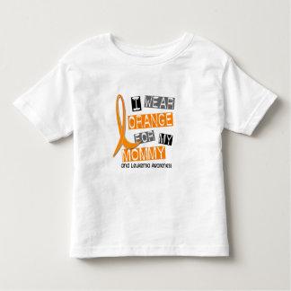 Leukemia I Wear Orange For My Mommy 37 Shirt