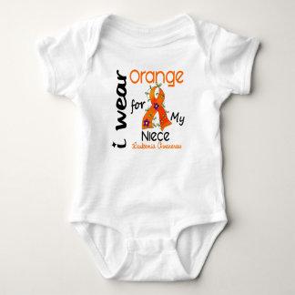 Leukemia I Wear Orange For My Niece 43 Tee Shirts