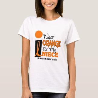 Leukemia I WEAR ORANGE FOR MY NIECE 9 T-Shirt
