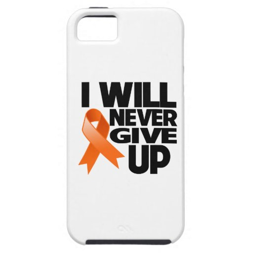 Leukemia I Will Never Give Up iPhone 5 Cases