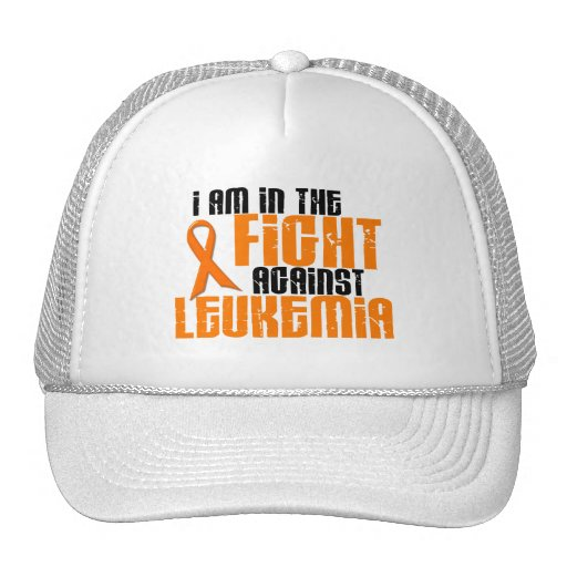 LEUKEMIA In The Fight 1 Mesh Hats