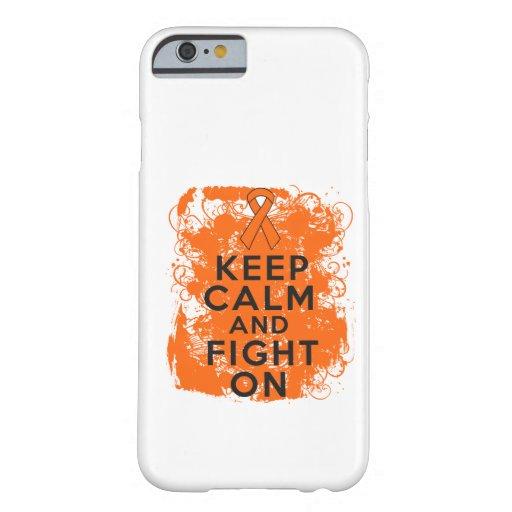 Leukemia Keep Calm and Fight On iPhone 6 Case