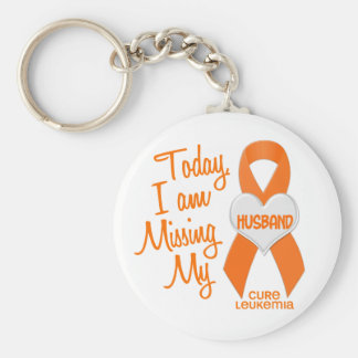Leukemia Missing My Husband 1 Key Ring