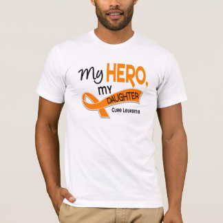 Leukemia MY HERO MY DAUGHTER 42 T-Shirt