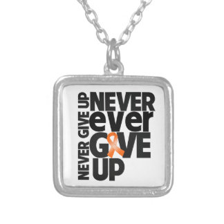 Leukemia Never Ever Give Up Jewelry