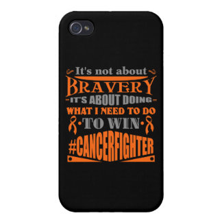 Leukemia Not About Bravery iPhone 4 Covers
