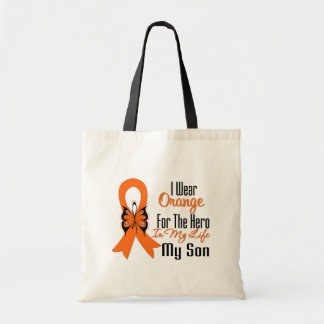 Leukemia Orange Ribbon Hero My Son Bag