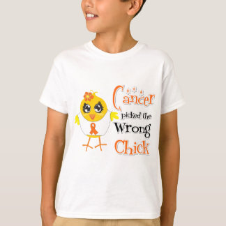 Leukemia Picked The Wrong Chick Tshirt