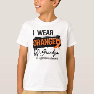 Leukemia Ribbon For My Grandpa Shirts