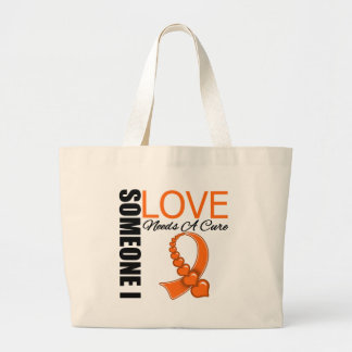 Leukemia Someone I Love Needs A Cure Canvas Bags