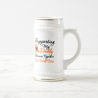 Leukemia Supporting My Daddy Coffee Mug