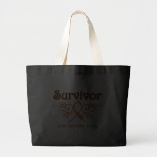 Leukemia Survivor Tribal Ribbon Bag