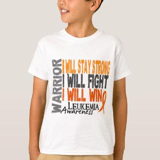 Leukemia Warrior Tee Shirts