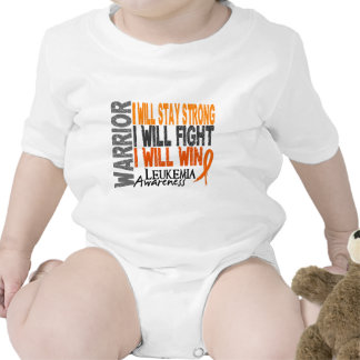 Leukemia Warrior Baby Bodysuits