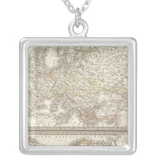 L'Europe 1789, 1813 Silver Plated Necklace