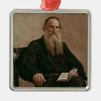 Lev Tolstoy  1887 Christmas Ornament