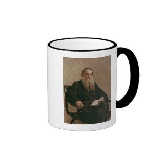 Lev Tolstoy  1887 Ringer Mug