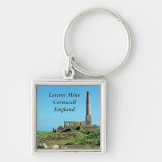 Levant Mine Cornwall England Photo Key Ring