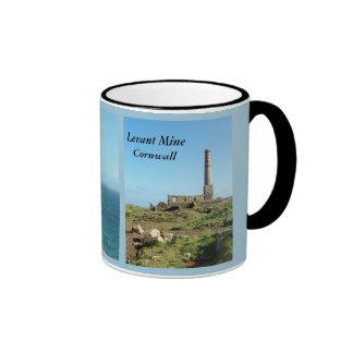 Levant Mine Cornwall England Poldark Location Ringer Mug