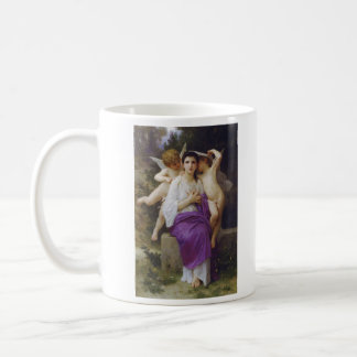 Leveil Heart by William-Adolphe Bouguereau Basic White Mug