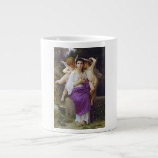 Leveil Heart by William-Adolphe Bouguereau Large Coffee Mug
