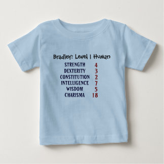 Level 1 Human Personalize Baby T-Shirt