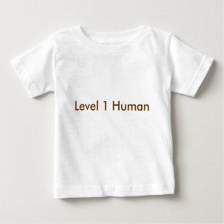 Level 1 Human T-shirts