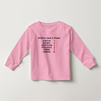 Level 2 Human Toddler T-Shirt