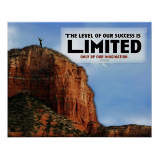 Level of Success Custom Poster