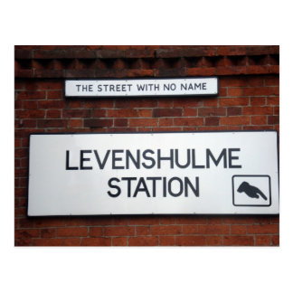 Levenshulme - The Street With No Name Postcard