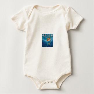Levent Infant Long SleeveT-Shirt Template Baby Bodysuit