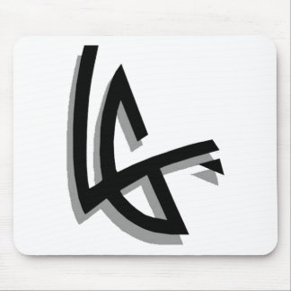 Levent Of Team Green e s True Logo Mouse Pad