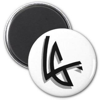 Levent Of Team Green/e's True Logo 6 Cm Round Magnet
