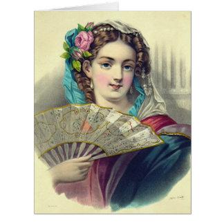 L'eventeil 1850 big greeting card