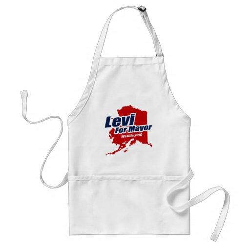 Levi for Mayor of Wasilla 2010 Aprons