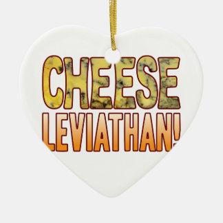 Leviathan Blue Cheese Ceramic Heart Decoration