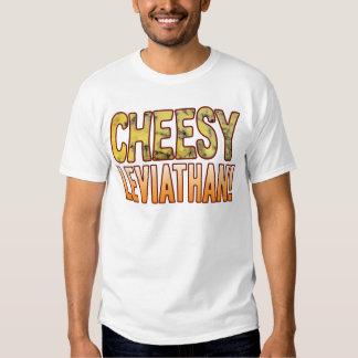 Leviathan Blue Cheesy Shirt