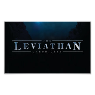 Leviathan Chronicles Logo Poster