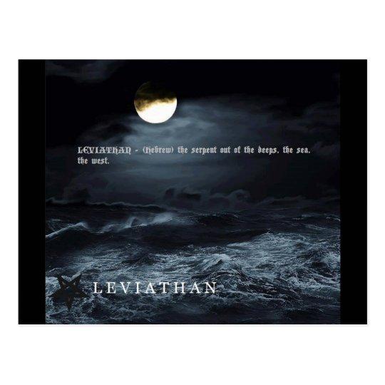 LEVIATHAN POSTCARD