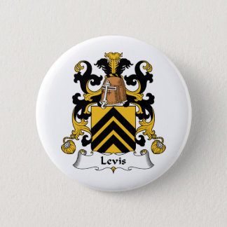 Levis Family Crest 6 Cm Round Badge