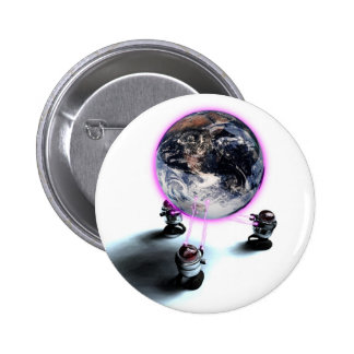Levitating the Earth Button